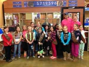 UNION COUNTY GIRL SCOUTS Donations Feb 2014