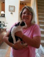 Mickey with New Mom Melinda - May 2017