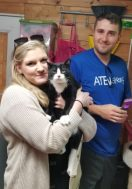 Abby Grace & Mike with Tux - April 2019