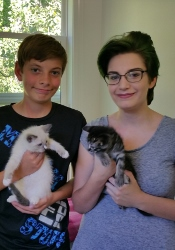 Jordan & Donnie's New Family - May 2017