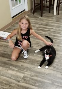 Sloan and Tux at FURR Rescue Facility - Oct 2017